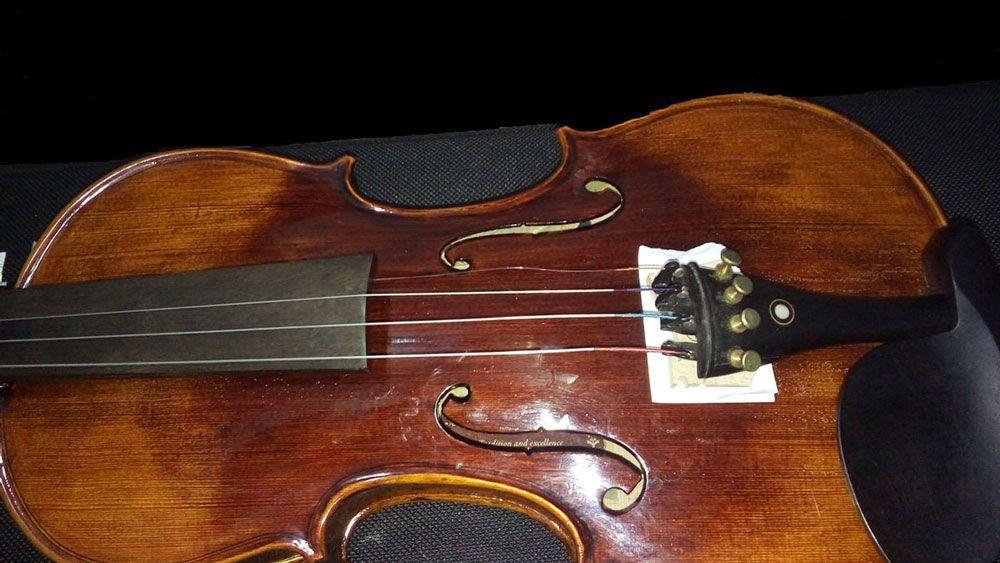 Violino Eagle Vk644 4/4 Rajado Prof.c/higrometro Comp.saldo
