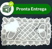 COBRE BANDEJA RENDA RENASCENÇA 26 X 15CM (UNID)