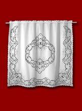 Cortina Bordado Richelieu 1,50x2,0m (LxA) no Percal 230 Fios 1 Folha Patrocínia