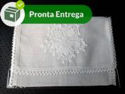 Kit Porta Lenço com Renda Renascença (4 unid.)