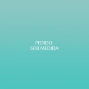 TOALHA DE MESA BORDADA EM RICHELIEU-MARGARIDAS - (2,05 x 3,0 M)