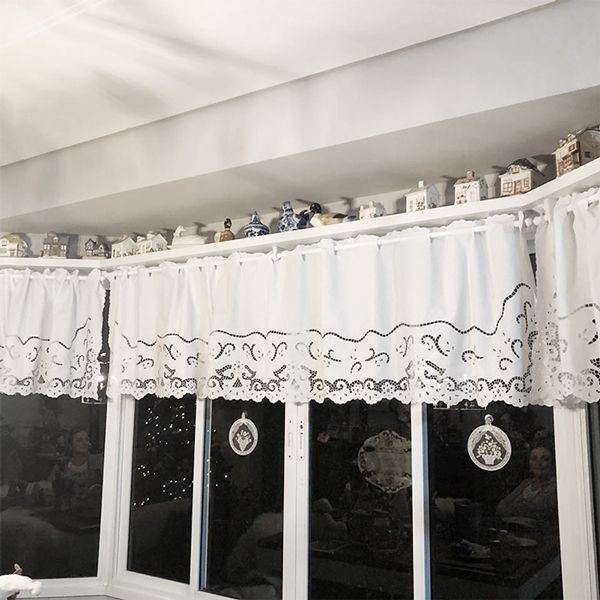 BANDÔ BORDADO 230 FIOS RICHELIEU-MIUDINHO (3,20 X 0,50 M)-(01 FOLHA)  - Bordados do Ceará - Jutnet