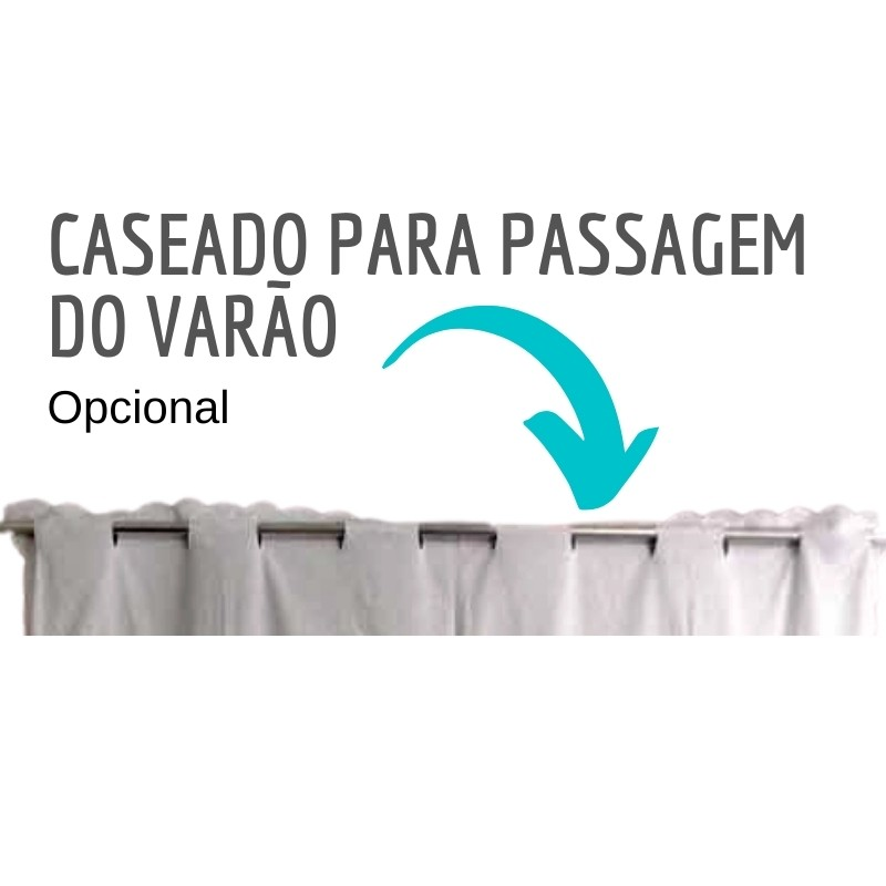 Bandô Xale Bordado Richelieu Percal 230 Fios 2,85x0,50x1,0 m (LxAxAP) 1 Folha Miudinho  - Bordados do Ceará - Jutnet