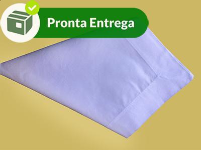 Guardanapo com Bainha 100% Algodão Branco 50x50cm (4 unid.)  - Bordados do Ceará - Jutnet