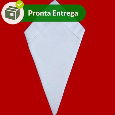 GUARDANAPO COM BAINHA PONTO AJOUR 100% ALGODÃO 40X40 (6 UNID.)  - Bordados do Ceará - Jutnet