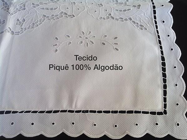 KIT BERÇO BORDADO RICHELIEU - ANJO BARROCO (A PARTIR DE 07 PEÇAS)  - Bordados do Ceará - Jutnet