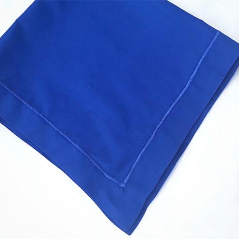 Kit com 12 Guardanapos 50x50 100% Algodão Azul Royal   - Bordados do Ceará - Jutnet