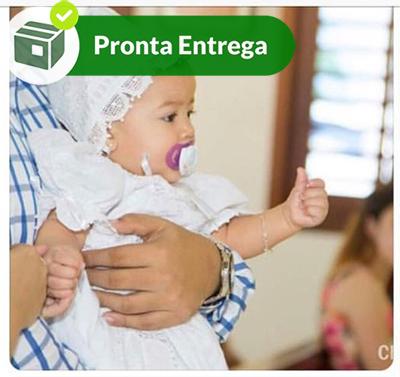 TOUCA BATIZADO RENDA RENASCENÇA  - Bordados do Ceará - Jutnet