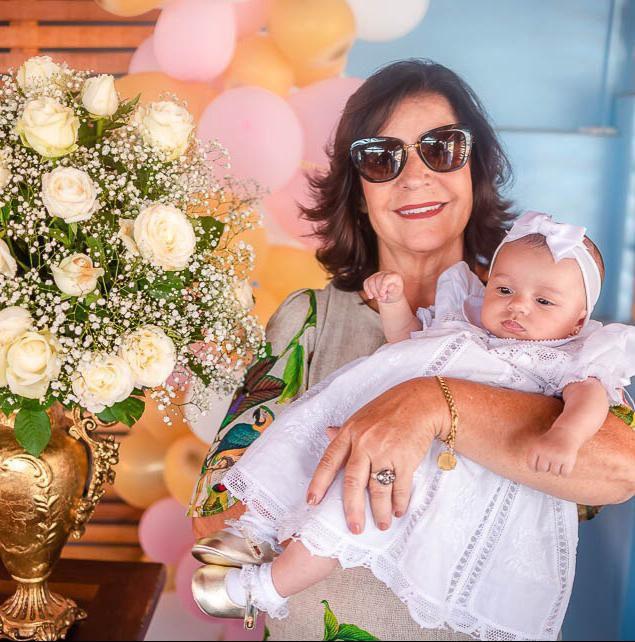 Vestido Nesga Fina em Renda Renascença Bordado à mão 6m-1ano  - Bordados do Ceará - Jutnet
