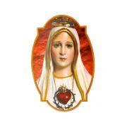 Adesivo Nossa Senhora de Fátima - Para Vidro