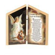 Adorno de Mesa do Anjo da Guarda com Oração