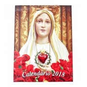 Calendário de Parede Nossa Senhora de Fátima 2018