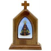 Capelinha Adorno de Mesa Nossa Senhora Aparecida
