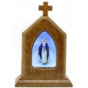 Capelinha Adorno de Mesa Nossa Senhora das Graças