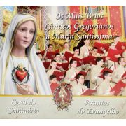 CD Os Mais Belos Cânticos Gregorianos a Maria Santíssima