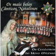 CD Os Mais Belos Cânticos Natalinos - Vol. III - populares