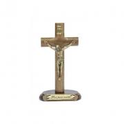 CÓPIA - Crucifixo Madeira de Mesa - 12 cm OV