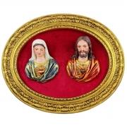 Imagem Busto Sagrado Corações de Jesus e Maria
