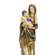 Imagem Escultura Nossa Senhora do Divino Amor 29cm Policromada