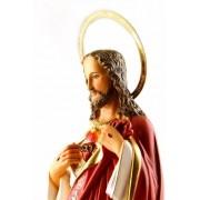 Imagem Escultura Sagrado Coração De Jesus 30CM