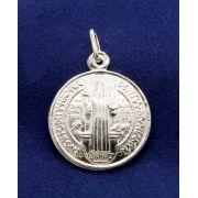 Medalha de São Bento Prata 925 - 22mm