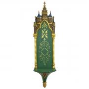 Oratório Peanha Castelo Gótico 90cm Verde