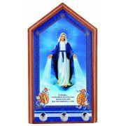 Porta-Chaves Nossa Senhora das Graças para parede