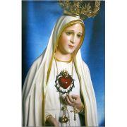 Poster Nossa Senhora de Fátima - Azul