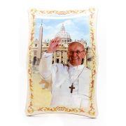 Quadro de mesa ou parede Papa Francisco
