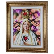 Quadro Nossa Senhora de Fátima 54X44CM