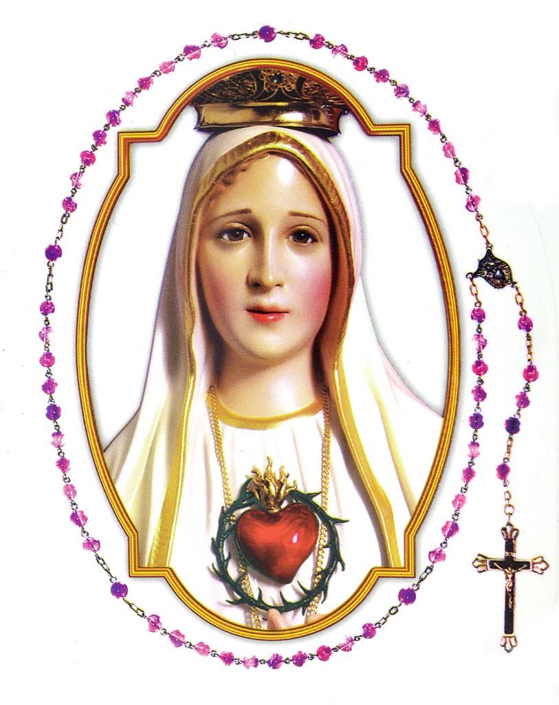 Adesivo Nossa Senhora de Fátima - Externo