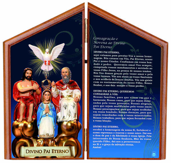 Adorno de Mesa com Oração de Jesus Misericordioso