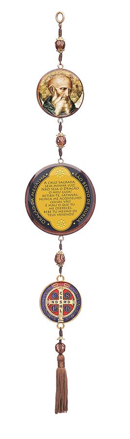 Adorno de Porta Medalha de São Bento