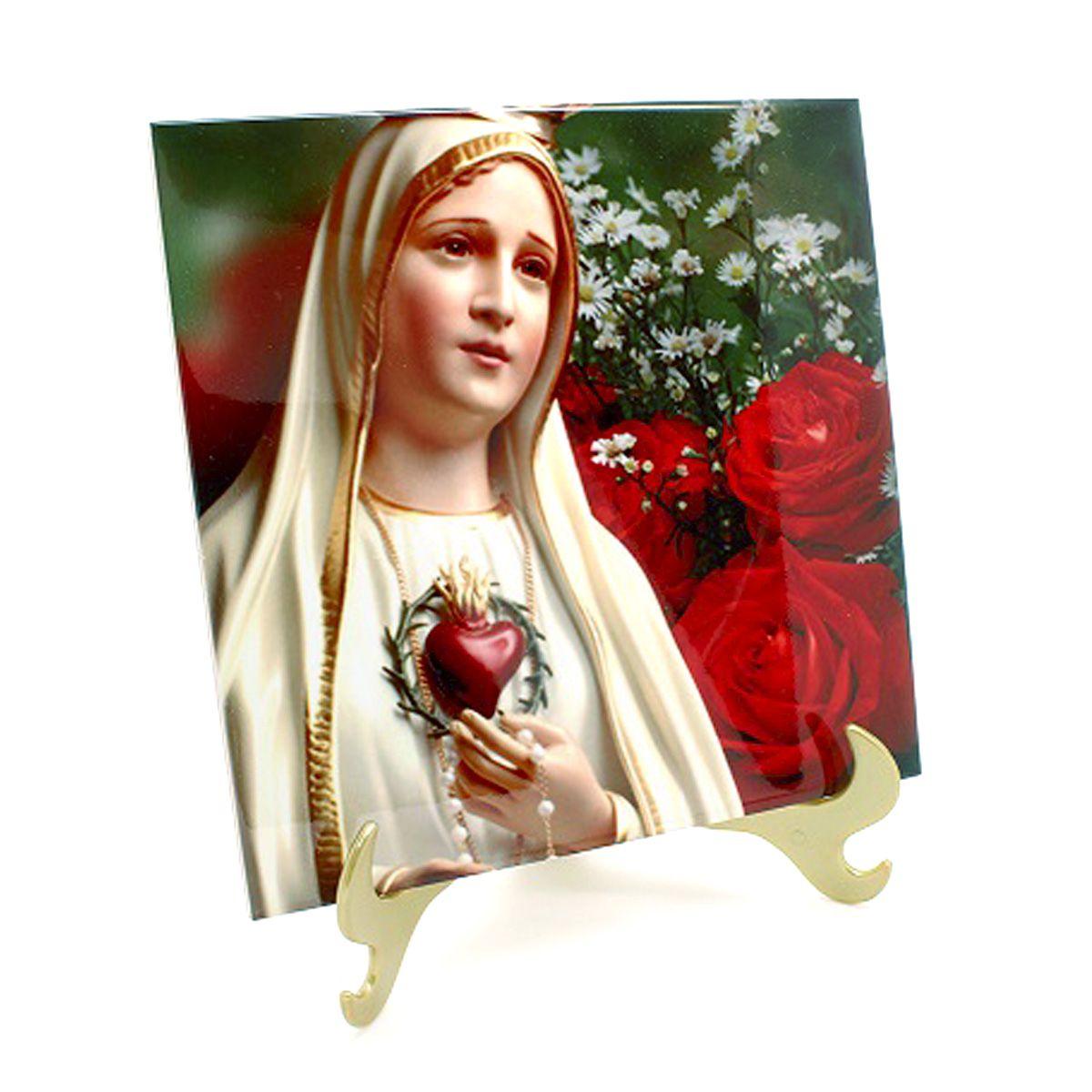 Azulejo Sublimado Nossa Senhora De Fátima 1