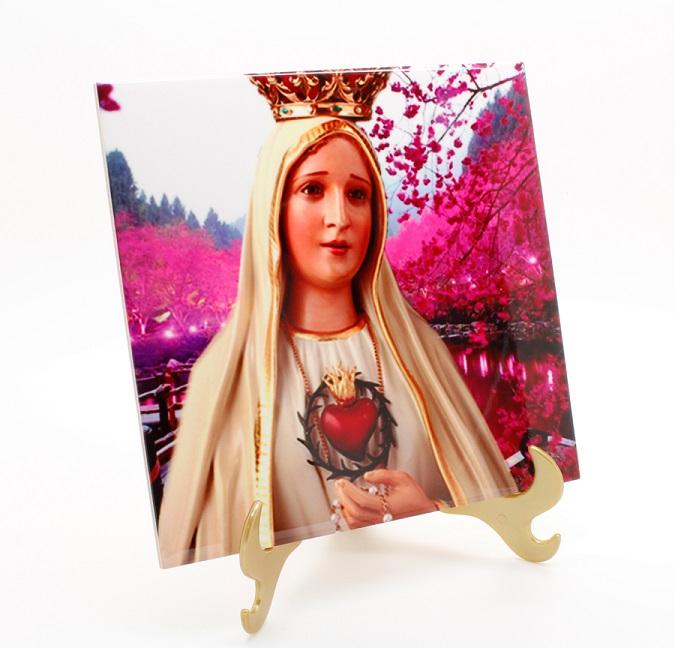 Azulejo Sublimado Nossa Senhora De Fátima 10
