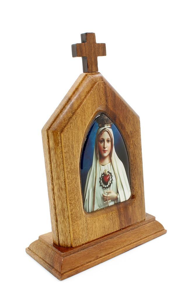 Capelinha Adorno de Mesa Nossa Senhora de Fátima