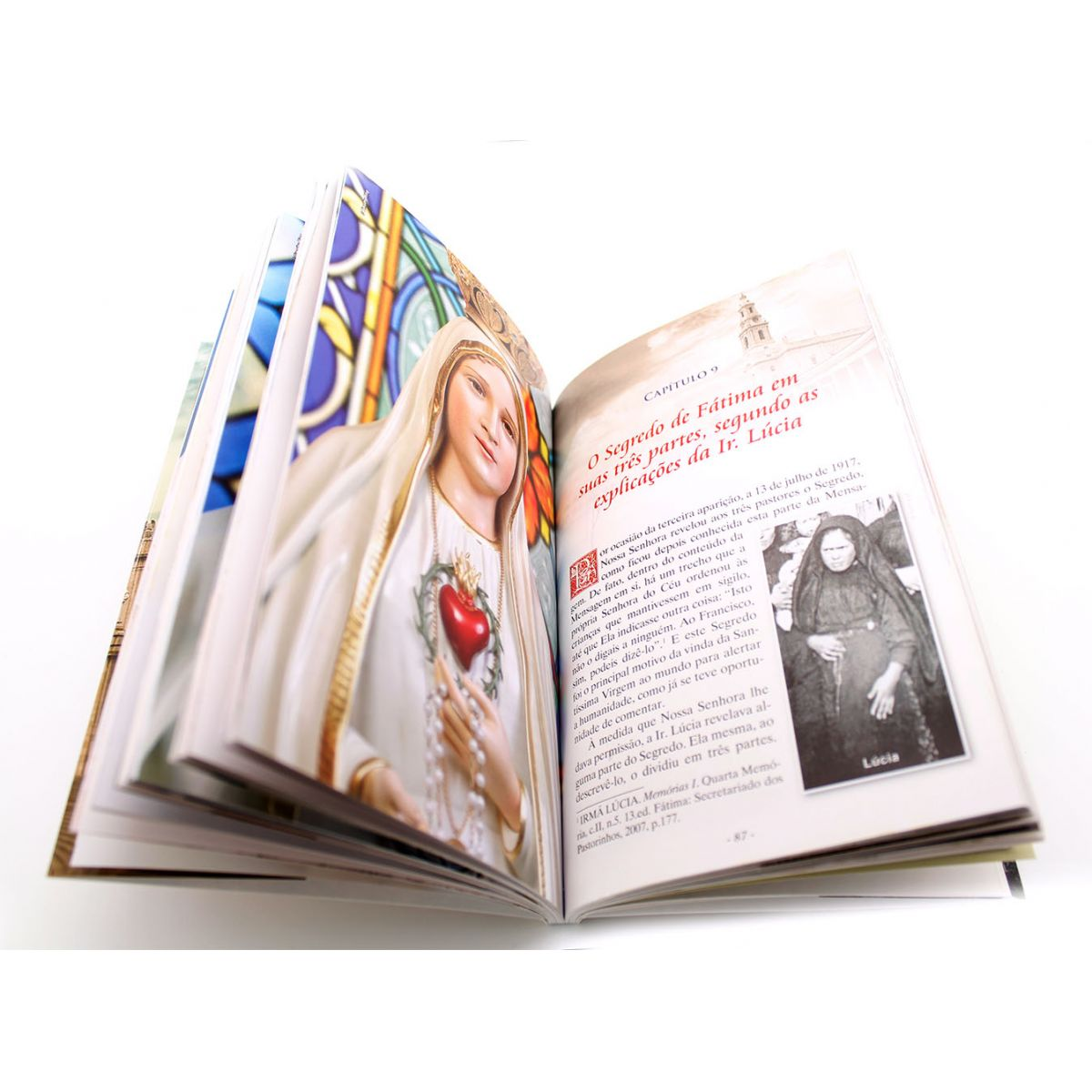 Livro Centenário de Fátima: Por fim, O Meu Imaculado Coração Triunfará