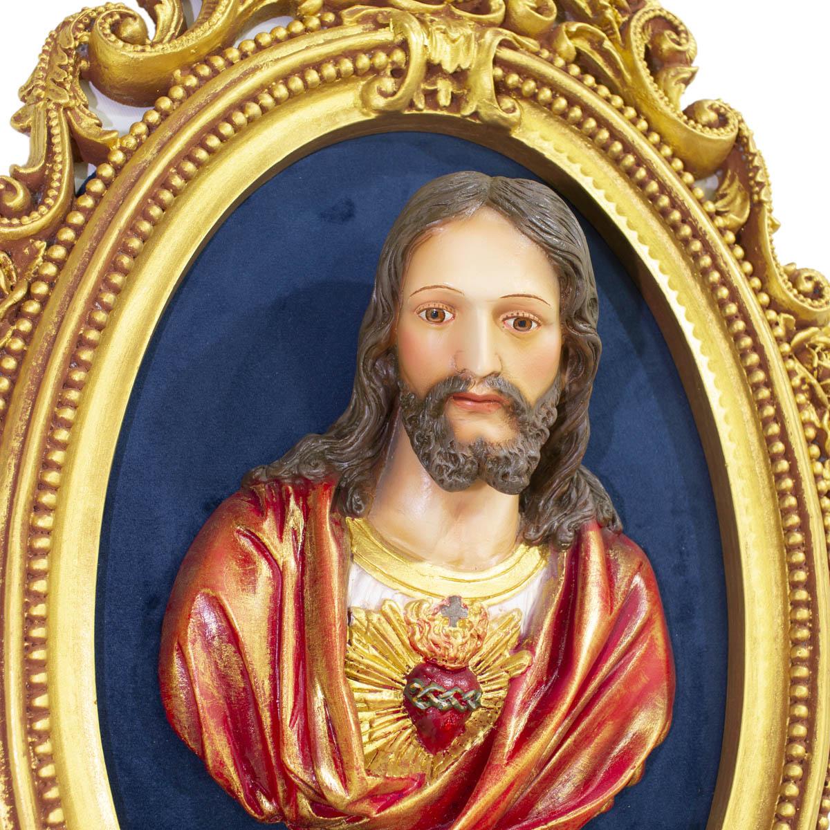 Imagem Busto Sagrado Coração de Jesus
