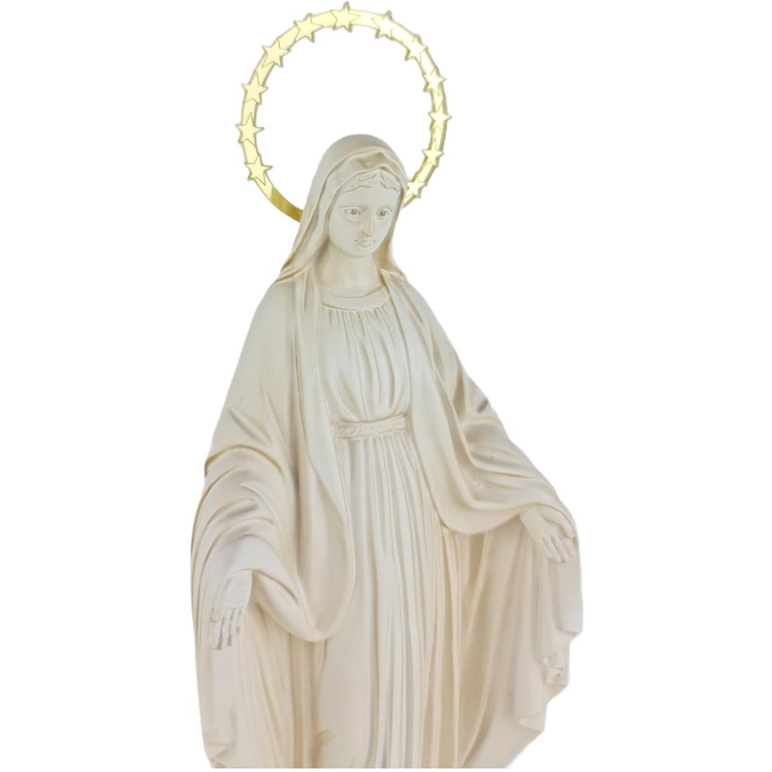Imagem Escultura Nossa Senhora Das Graças 20cm Branca