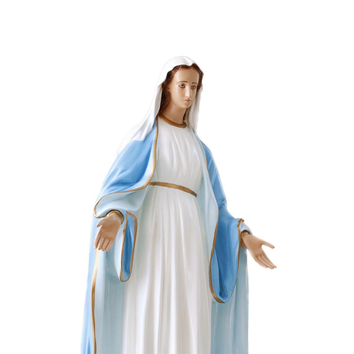 Imagem Escultura Nossa Senhora das Graças - colorida 60cm