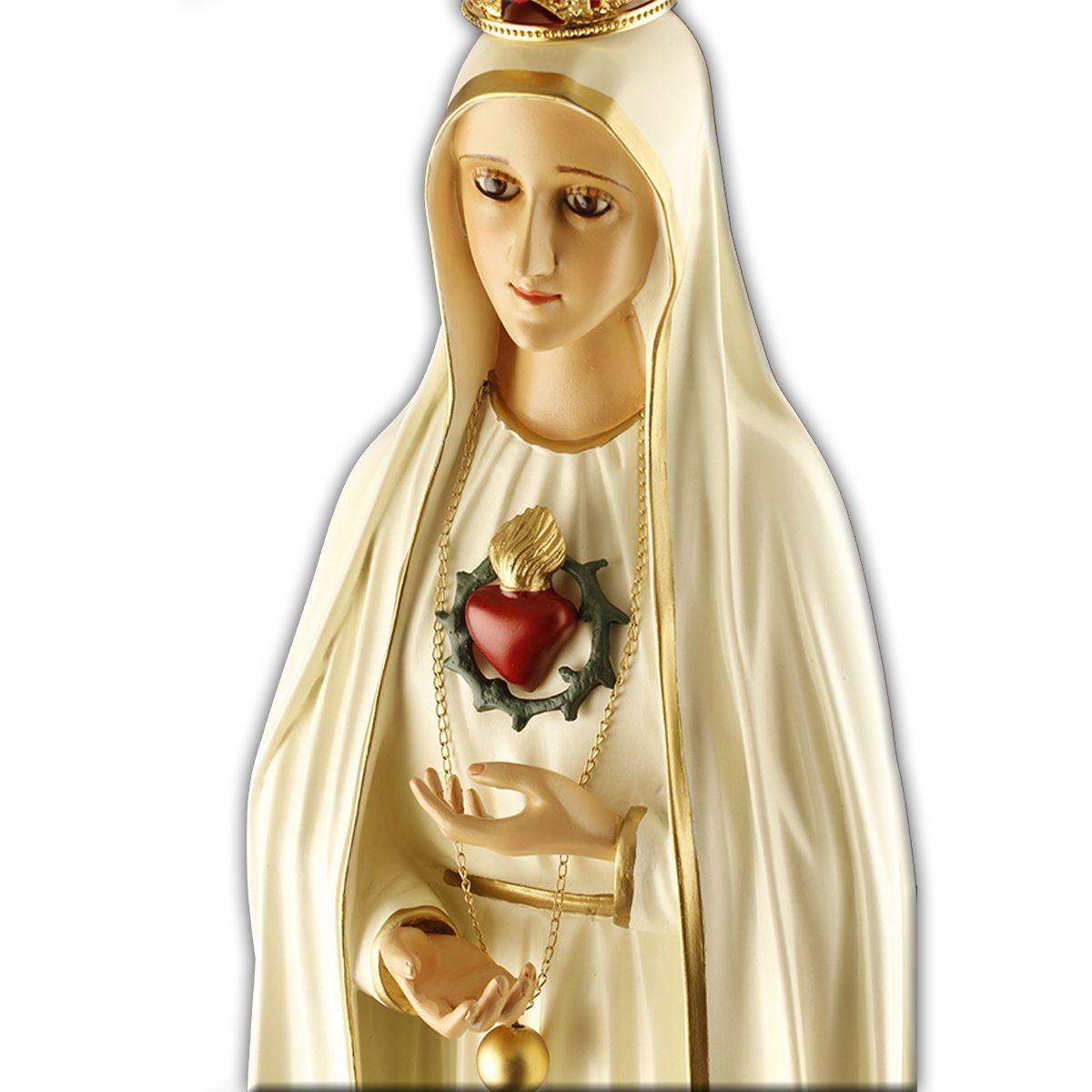Imagem Escultura Nossa Senhora de Fátima -  75 cm