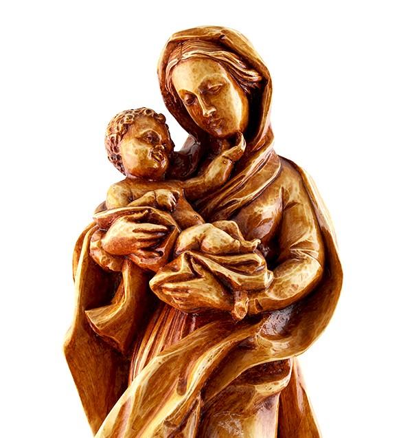 Imagem Escultura Nossa Senhora do Divino Amor - 43cm