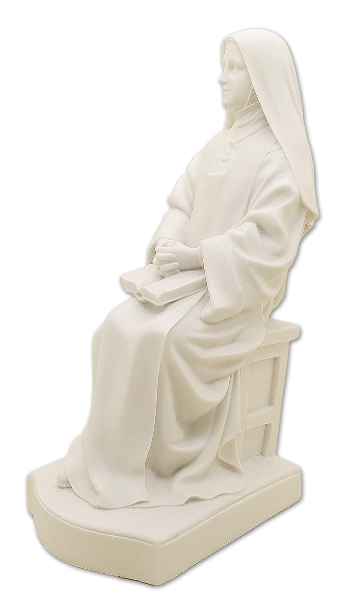 Imagem Escultura Santa Teresinha do Menino Jesus - 20cm