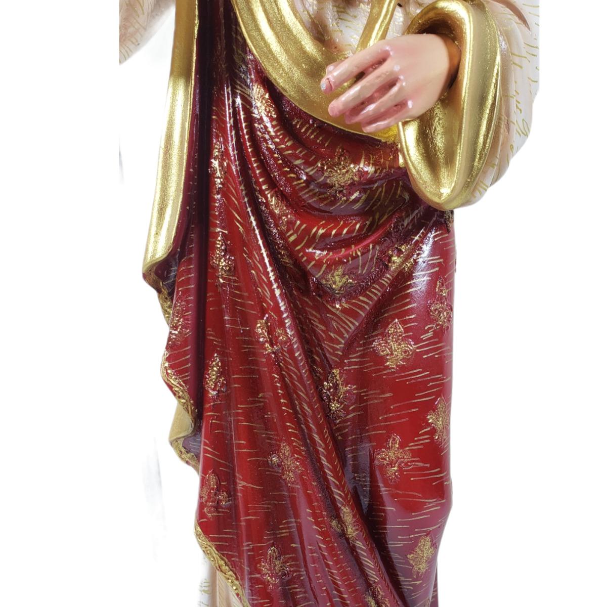 Imagem Escultura São José Rei 45cm Policromado DR