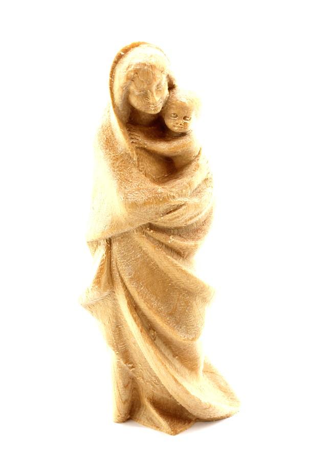 Imagem Escultura N.Sra do Divino Amor - madeira - 7,5cm