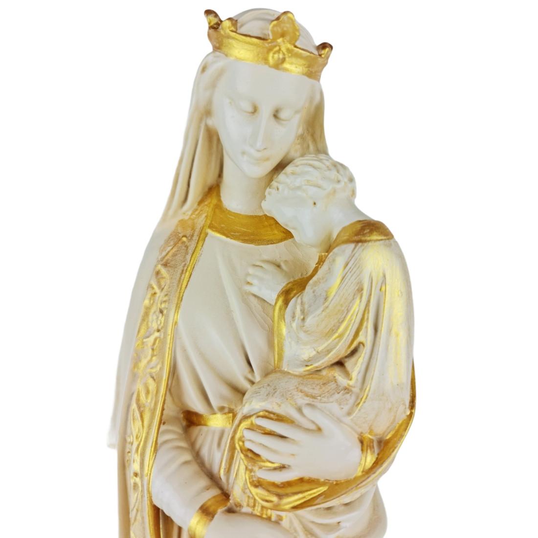 Imagem Nossa Senhora da Sabedoria Dourada - 40cm
