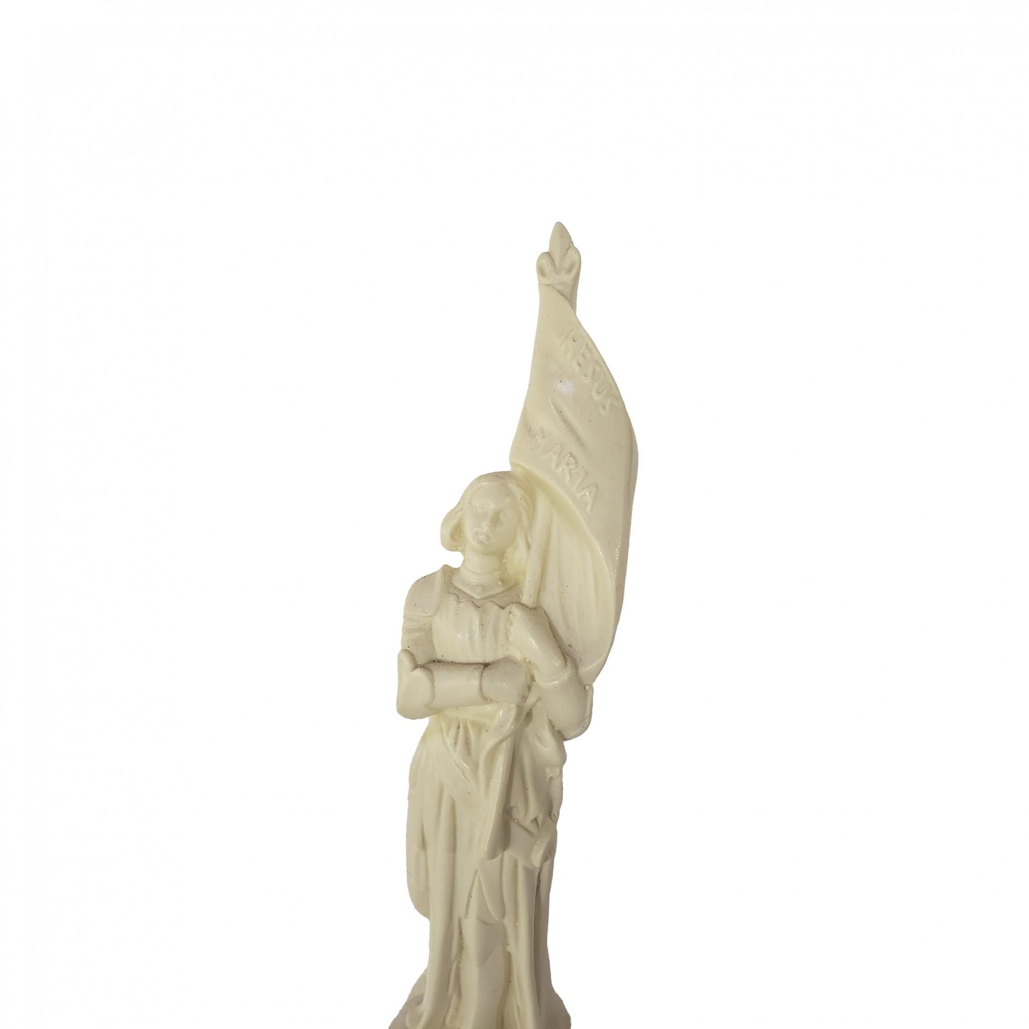 Imagem Santa Joana D'Arc  Branca