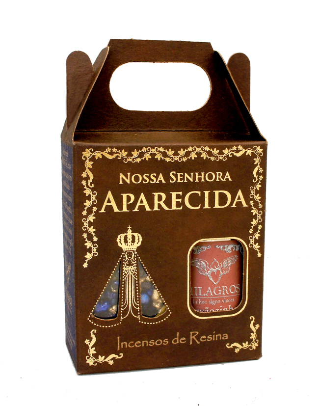 Kit Incenso N.Sra Aparecida+ carvão