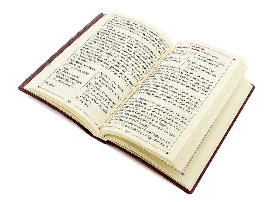 Kit Livro Preces + Capa de Couro