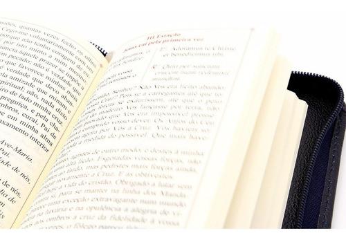 Livro De Orações Diversas - Preces Latim/ Português C/ Capa de Couro